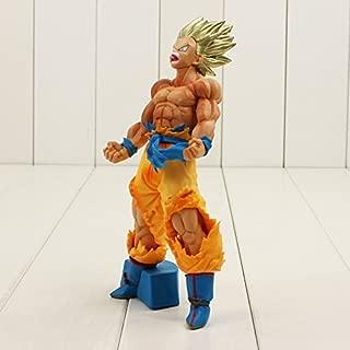 18cm Dragon Ball Z Son Goku Vegeta Action Figure Blood of Saiyan Battle Damaged Model Doll for Children (2)