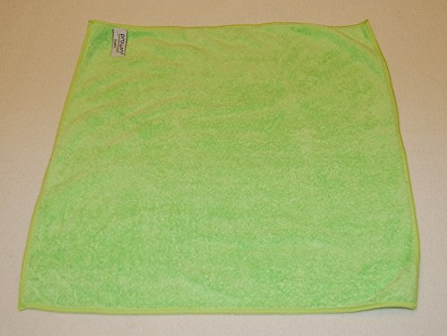 ProWin Fluffy grün 38 cm x 38 cm