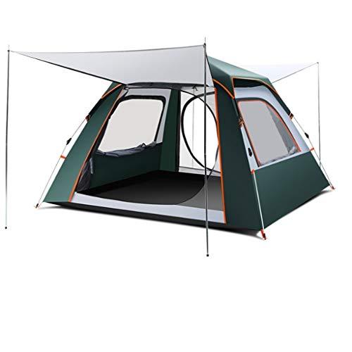 Utilisation multiple Sports de plein air Tente de protection solaire anti-pluie extérieure imperméable et respirante vent vitesse automatique Ouvert Camping Camping Pliable Équipement d'extérieur