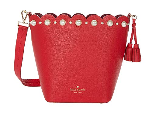 Kate Spade New York Hayes Street Pearl Vanessa Royal Red One Size