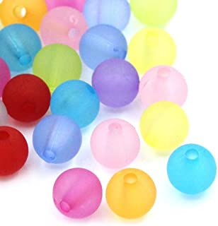 Best frosted acrylic beads Reviews