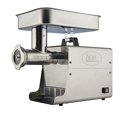 LEM Products 17801 Big Bite #12 .75HP Stainless Steel Electric Meat Grinder