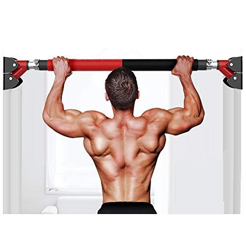 Klimmzugstange für die Tür, Klimmzugstange Home-Pefect Fitness Türrahmen Klimmzugstange Home Gym Tür montiert Keine Schrauben Türstange Klimmzugstange Trainingsgeräte-110-135cm