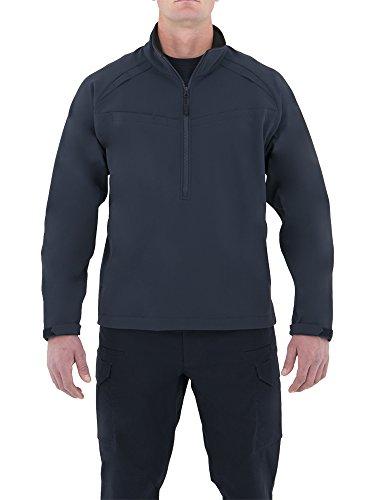 Première Chemise Tactique en Coton avec Fermeture éclair, Homme, 118507, Bleu Marine, XXL