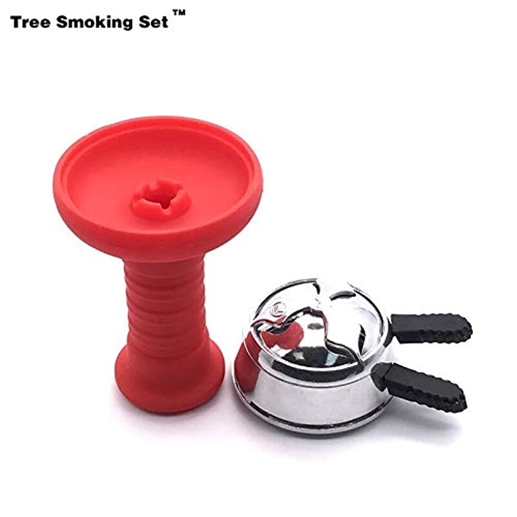 HerrosV Goblet Silicone Hookah Bowl with Burner Foyer Accessories Hookah Charcoal Holder Twan0506