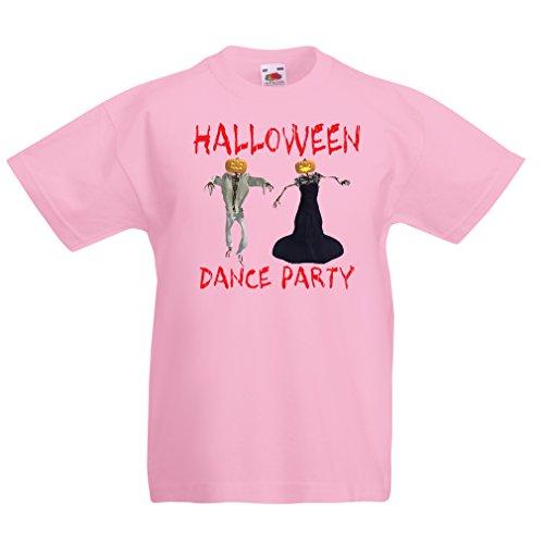 lepni.me Camisas para niños Disfraces Fiesta de Danza de Halloween Eventos Traje Ideas (5-6 Years Rosado Multicolor)