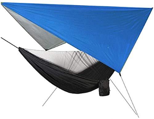 YSCYLY Parachute Hangmat Lichtgewicht Duurzaam, Snelheid Open Muggennet Sky Scherm, Reizen Hangmatten Draagbare Sneldrogende Perfect Voor Wandelen Backpacking Strand