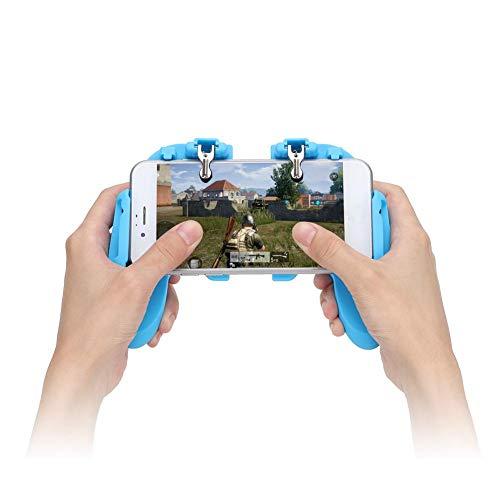 Diseño de agujero abierto Nuevo controlador H6.0 que se extiende multifunción para todos los teléfonos móviles de 4,7 a 6 pulgadas(blue)