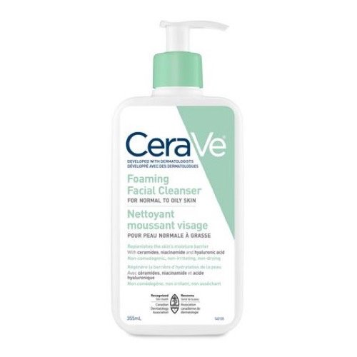 CeraVe Foaming Facial Cleanser, 355ml