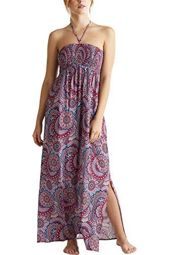 ESPRIT Maxi-Kleid mit Smok-Bustier
