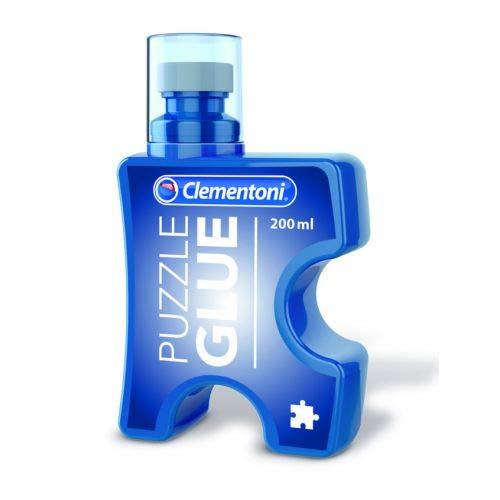 Clementoni- Puzzle Glue Colla, Multicolore, 37000
