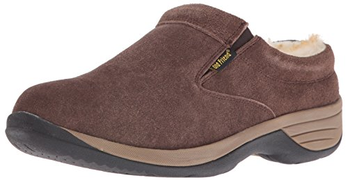 Old Friend Men's Alpine II Slipper, Chocolate, 11 M US