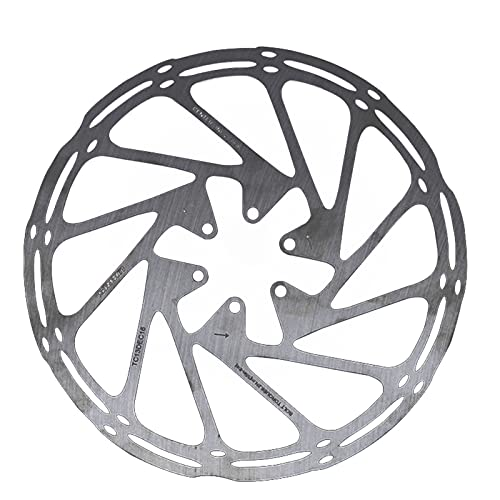 Disco Freno Bike Disc Freno Rotor Center Line 160mm 180 mm 203mm Rotor de disco de freno hidráulico de acero inoxidable para montaña MTB Bicicleta de carretera Freno Disco ( Color : 203mm no box )