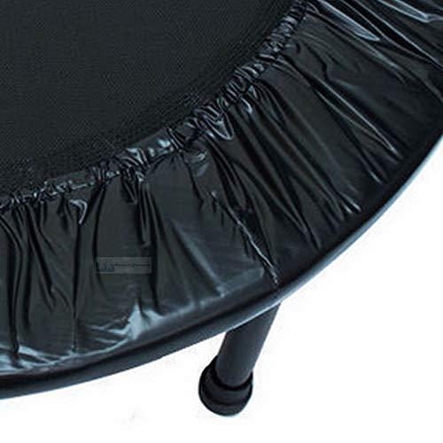 xsports Mini Trampoline 4 ft Skirt ONLY for Rebounder Jumper Fitness Trampoline - Black