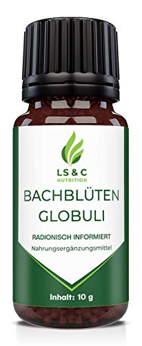 Bachblüten Globuli | radionisch informiert | 10g