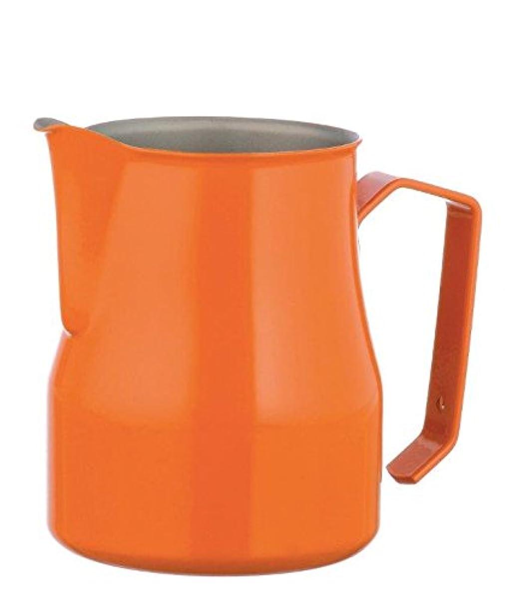 首尾一貫した固執叙情的なMotta Stainless Steel Professional Milk Pitcher, 25.4 fl. oz., Orange by Motta
