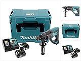 Makita DHR 202RTJ 18V Batterie perforateur burineur sds-plus en coffret Makpac avec 2x 5,0Ah Batterie et chargeur