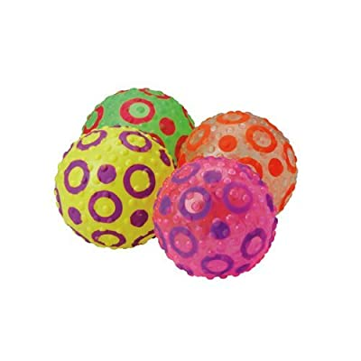 "Constructive Playthings 8"" diam. Children's Soft Knobby Balls with""Bumps"" for Added Grip for All Ages"