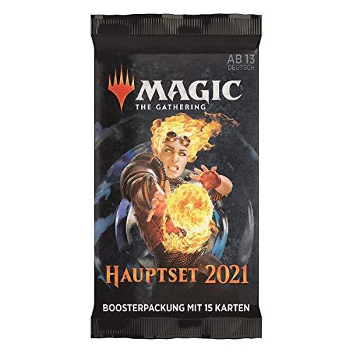 MTG Hauptset 2021 Draft Booster Pack Deutsch, Magic: The Gathering