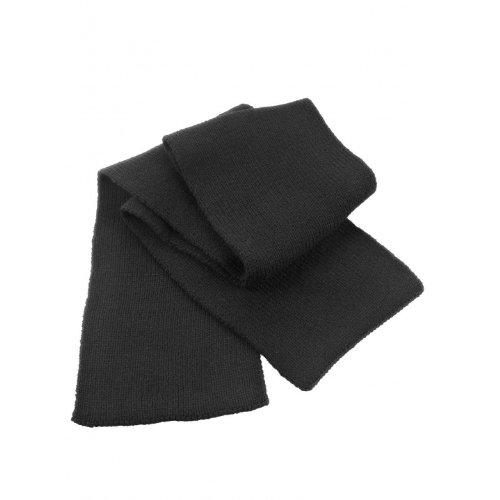 Result R145 X Classique Heavy Knit Écharpe Taille Unique Noir