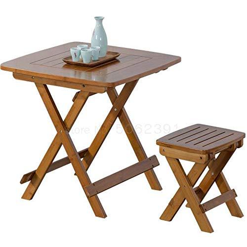 No Brand FYTVHVB klaptafel vierkant voor buiten, inklapbaar voor tafel en stoelen
