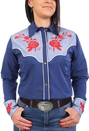 Last Rebels Country - Camisa para mujer, color azul azul XX-Large