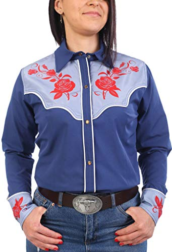 Last Rebels Country - Camisa para mujer, color azul azul XX-Large