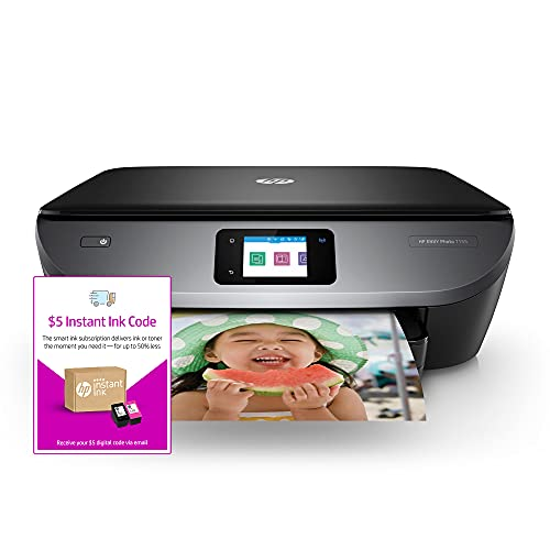 HP ENVY Photo 7155 All-in-One Photo Printer (K7G93A) and Instant Ink $5 Prepaid Code