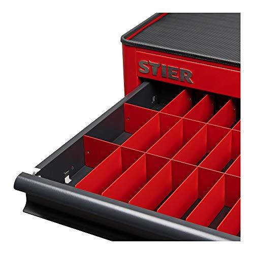 STIER Schubladen-Einteilungsset zu STIER Werkstattwagen