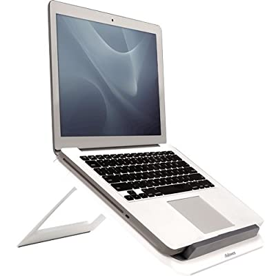 Fellowes I-Spire Series Portable Height Adjustable Laptop Stand for Desk