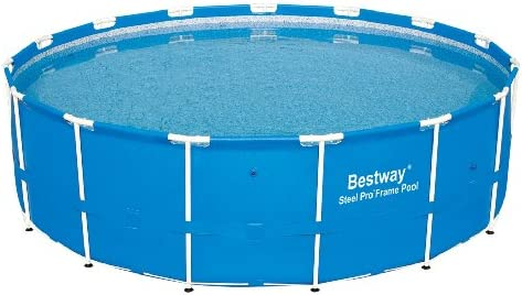 Bestway 56407 Steel Pro Above Ground, 10ft x 30in | Frame Pool Set w/Filter Pump, 10-Feet by 30-inch, Blue