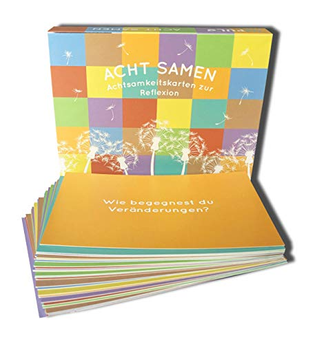 Impuls Training Tools & Schanze Coaching   32 tarjetas de atención   8 categorías   ocho semillas   según Daniel Goleman   para Coaching y asesoramiento