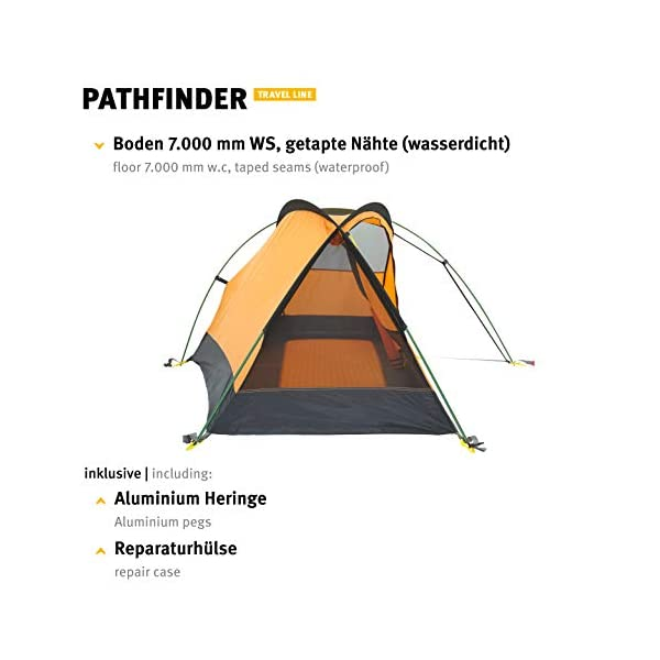 Wechsel tents Pathfinder - 1-Person Hiking Tent, Travel Line 1