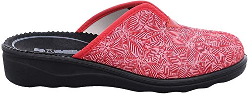 Romika Damen Romisana 91 Pantoffeln, Rot (Rot-Kombi 401), 39 EU