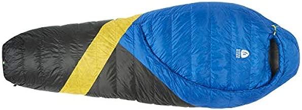 Sierra Designs Cloud 35 Degree DriDown Sleeping Bag Ultralight Zipperless Down Sleeping Bag for Backpacking and Camping - Regular