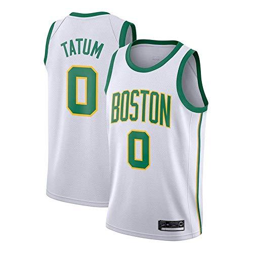 N/G Herren Basketball Trikot - Celtics # 0 Basketballbekleidung Bestickte Mesh Basketball Swingman Trikots Sport Tops