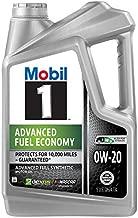 Mobil 1 Advanced Fuel Economy 120758 Advanced Full Synthetic Motor Oil for 0W-20 5, 4.73L, 5 quart