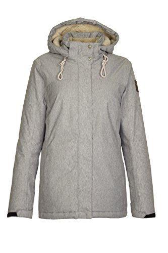 Killtec Damen Linett Outdoorjacke, grau, 40