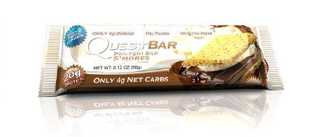 Quest Nutrition Quest Protein Bar Riegel Smores - (1x 60g Riegel)