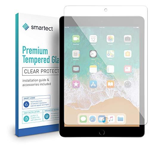 smartect Beschermglas compatibel met iPad 2018 / iPad 2017 / Pro 9.7 / Air/Air 2 - screen protector met 9H hardheid - bubbelvrije beschermlaag - antivingerafdruk kogelvrije glasfolie