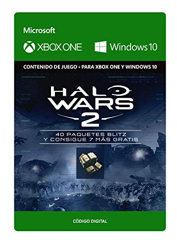Halo Wars 2: 47 Blitz Packs  | Xbox One/Windows 10 PC - Código de descarga