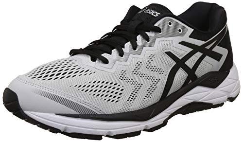 ASICS Men Gel-Fortitude 8 Glacier Grey and Black Running Shoes-6 UK/India (40 EU)(7 US) (T816N.020)