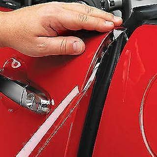 Tiras protectoras para el coche Castle, transparentes, imprescindibles para pintar, colocación en los bordes de las puertas