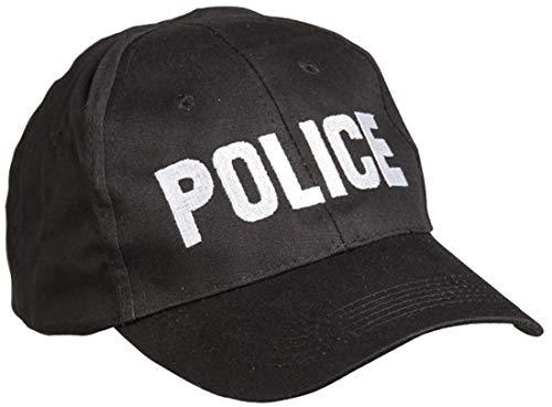 Miltec Casquette Police BK Adulte Unisexe, Noir, Taille Unique