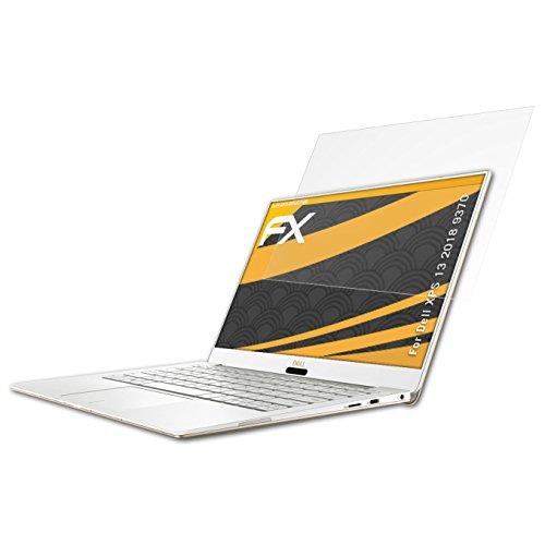 atFolix Panzerfolie kompatibel mit Dell XPS 13 2018 9370 Schutzfolie, entspiegelnde und stoßdämpfende FX Folie (2X)