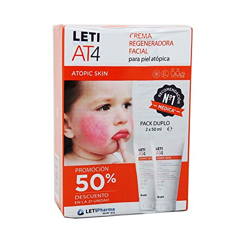 LETI AT4 FACIAL 50ML DUPLO 50% 2ª UNIDAD