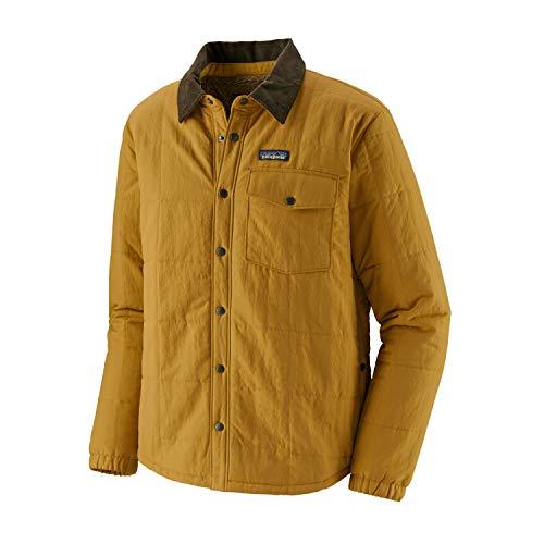 Patagonia M's Isthmus Quilted Shirt Jkt Jacke Herren S Buchweizen, Gold