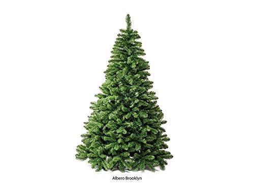 Albero di Natale Brooklyn 240, 2 metri e 40, folto