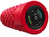 VIBRA Vibrating Foam Roller - Next Generation Electric Foam Roller with 5 Speeds Settings | Includes Carry Case & Vibration Foam Rolling Training (RED)
