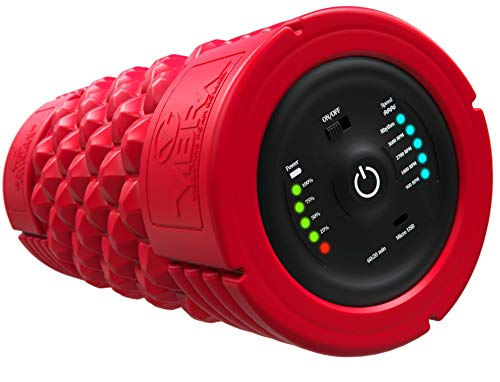 Great Deal! VIBRA Vibrating Foam Roller - Next Generation Electric Foam Roller with 5 Speeds Setting...